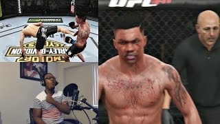 EA Sports UFC PS4 Career Mode Gameplay FACECAM - Iron Chin!! Ep. 23