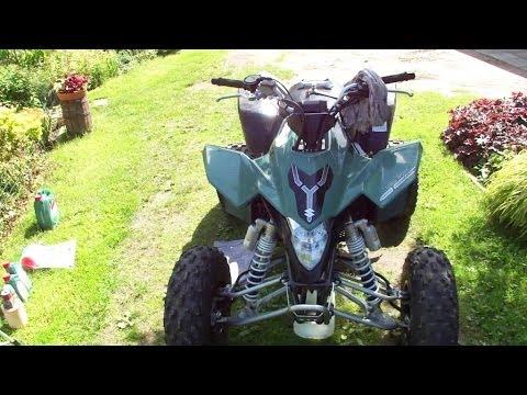 Change Oil Filter   Wymiana filtra oleju w quadzie   ATV parts service quad suzuki LTZ 400 Z400