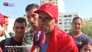 بالفيديو: شاب يستغل مباراة المنتخب المغربي و الغابون للتجارة !  