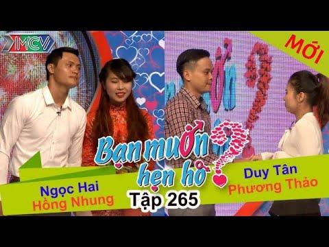BẠN MUỐN HẸN HÒ | Tập 265 - FULL | Ngọc Hai - Hồng Nhung | Duy Tân - Phương Thảo | 240417