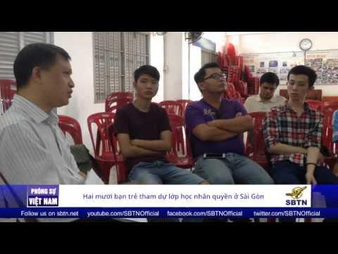 23/11/15 - PHÓNG SỰ VIỆT NAM: 20 bạn trẻ tham gia lớp học Nhân quyền tại Sài Gòn