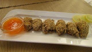 Sesame Chicken Kabab ..