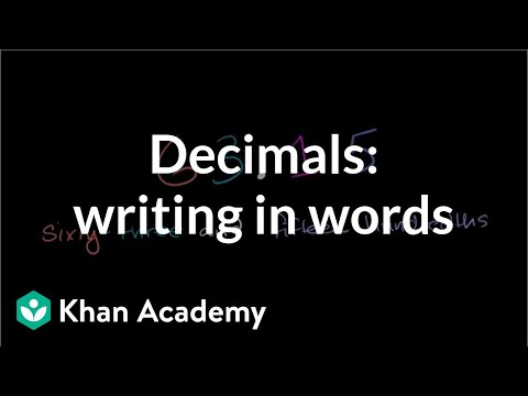 Decimal Place Value 2