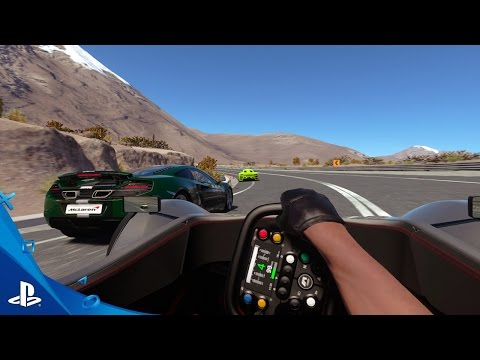 Sony PSVR Driveclub VR Racing game for Playstation VR