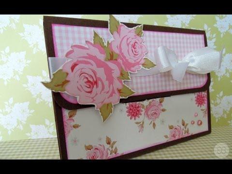 C mo hacer una caja carpeta para fotos tutorial - Como hacer una caja ...