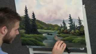 Paint With Kevin Hill Colorful Meadow Brook