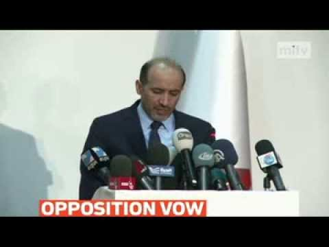 mitv - Syria opposition agree to attend Geneva II peace talks