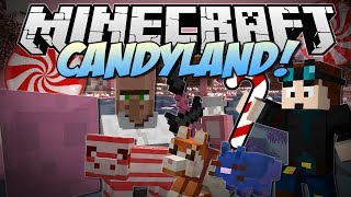 Minecraft CANDYLAND! (Candy Cane Pigs, Chocolate Dogs