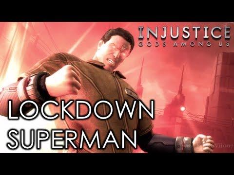 injustice gods among us lockdown superman costume hd