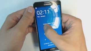 Samsung Galaxy Note 3 N9005 How To Remove Pattern Lock