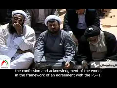 [English sub]. Excerpt. Rouhani: We are witnessing the break down of sanctions.