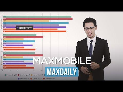 Maxdaily 15/12 - Lumia 850 sẽ có 4 màu, hiệu năng cực khủng của Snapdragon 820, iPhone 7