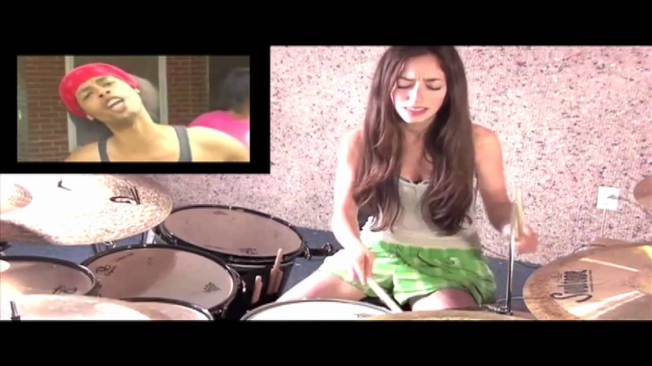 bed intruder song drum cover by meytal cohen youtube