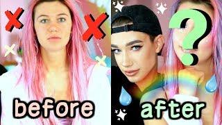 James Charles Does Mermaid Makeup. You Like?