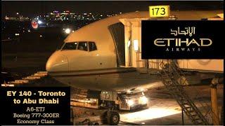 Etihad 140 Toronto To Abu Dhabi (Scenic Arrival Into Abu