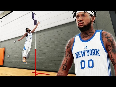 NBA 2k16 My Career Gameplay Ep. 21 - LIVE PRACTICE! Melo Won't Participate - 40