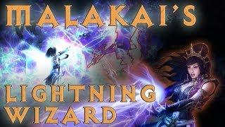 D3: Malakai's Lightning Wizard