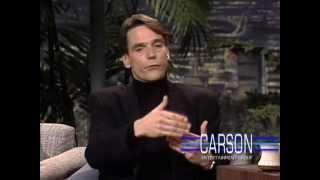 Johnny Carson: Jeremy Irons Promotes Kafka, 1992