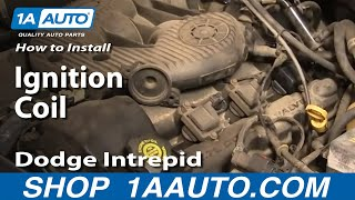 How To Install Repair Replace Ignition Coil Dodge Intrepid