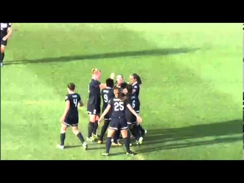 Sky Blue FC Forward Lisa De Vanna Scores an Amazing Bicycle Kick Goal (6-1-13)