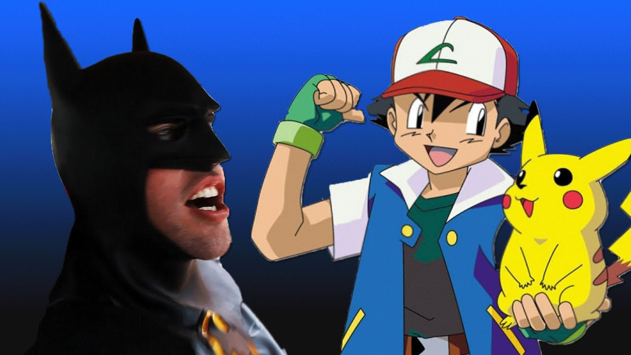 Batman sings the pokemon theme song youtube