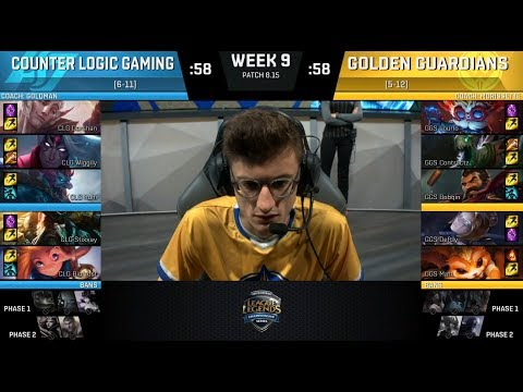 CLG (Darshan Gangplank) VS GGS (Contractz Graves) Highlights - 2018 NA LCS Summer W9D2