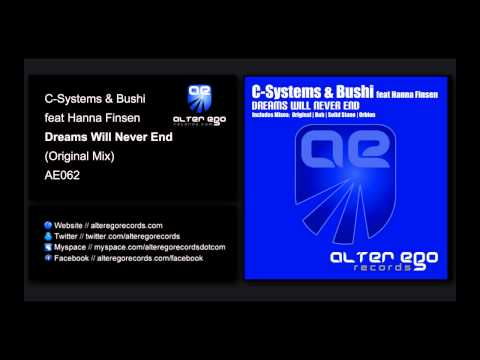 C-Systems & Bushi feat Hanna Finsen - Dreams Will Never End (Vocal Mix) [Alter Ego Records]