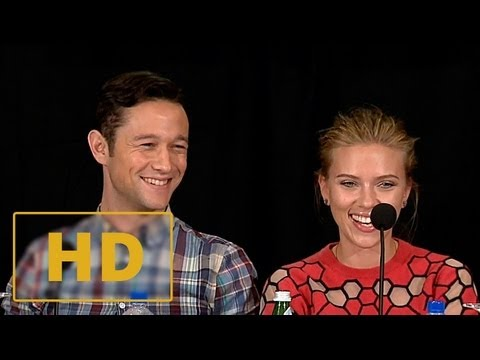 Don Jon Press Conference #5 - Joseph Gordon-Levitt, Scarlett Johansson Interview HD (2013)