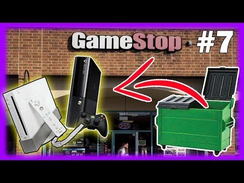 BEST GameStop Dumpster Dive EVER! Found a Xbox and a Wii! GameStop Dumpster Dive JACKPOT! WOW!