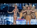 Miss Universe 2016 2017 Miss Vietnam Miss Philippines National Costumes Presentation