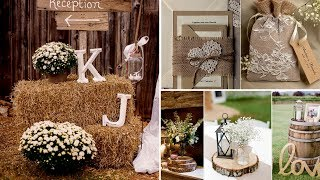 ❤40+ Elegant  Rustic or Barn  chic Party or Wedding DIY decor Ideas 2017❤Flamingo mango