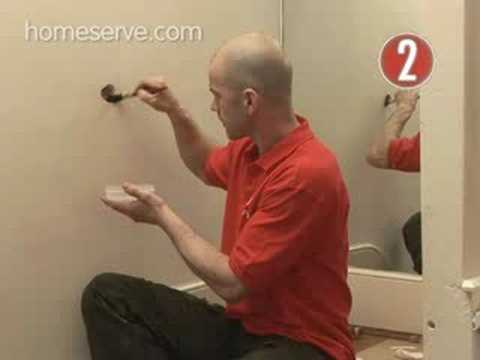 How To Plaster A Hole In The Wall Homeserve Video Guide