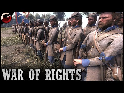 CONFEDERATE ARMY INSPECTION! Funny House Fight | War of Rights Gameplay