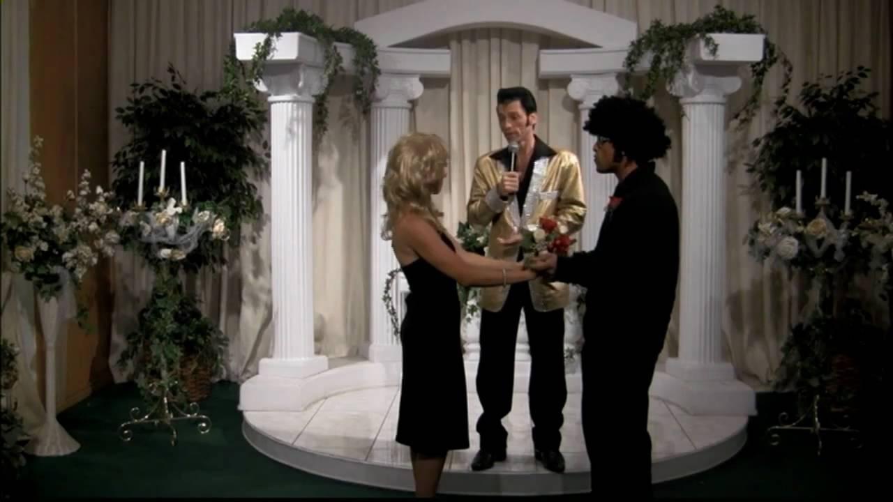 Funny Las Vegas Elvis Wedding Renewal