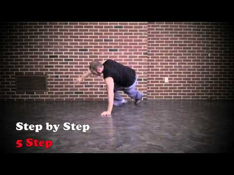 5 Step - Bboy Footwork 2 DVD