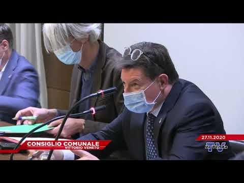CONSIGLIO COMUNALE VITTORIO VENETO - Seduta del 27.11.2020