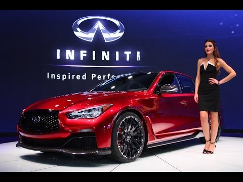2015 Infiniti Q50 Eau Rouge Concept at the 2014 NAIAS