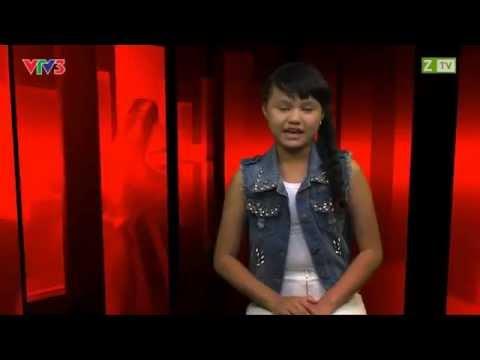 Giọng hát Việt nhí - Lê Dương Quỳnh Anh - Wanna Be - Vòng giấu mặt