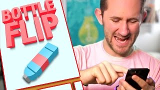 Bottle Flipping?! | 10 Apps That Will Waste Your Life!