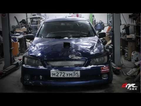 Авторское. Toyota Altezza с двигателем 1UZ-FE. Часть 1
