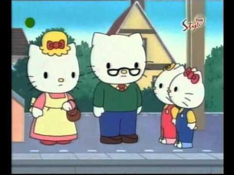 Hello Kitty - odcinek 06 B bajki - Jedziemy Pociągiem do Babci PL