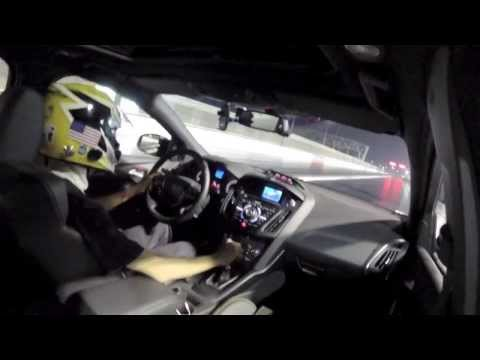 2013 Ford Focus ST - 14.3 Sec @ 100 MPH - Quarter Mile Drag Racing (1/