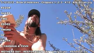 Hebrews Chapter 1 & 2 - Sit on my right hand, until I make thine enemies thy footstool