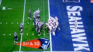 New England Patriots Vs Seattle Seahawks Super Bowl 2015