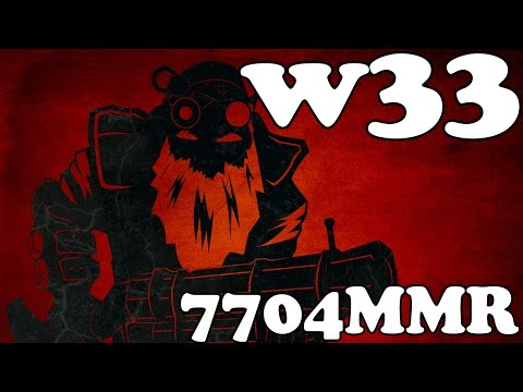Dota 2 Gameplay: w33 con Sniper