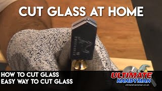Glass cutting using a glass cutter