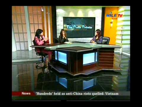 The Daily Debate Dr Mona Zaki Dr Iman Baibers 22 5 2014 1