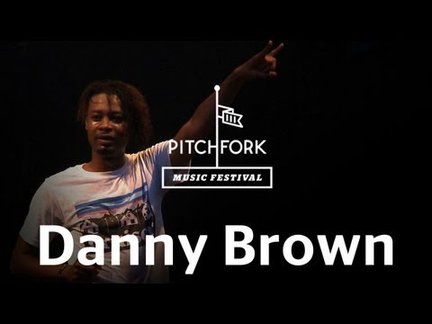 Danny Brown performs