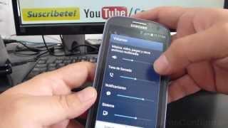 Cómo Ajustar El Volúmen Del Samsung Galaxy S3 Español