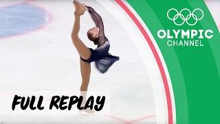 Girls Figure Skating ⛸ Long Program   RE-LIVE   European Youth Olympic Festival 2017